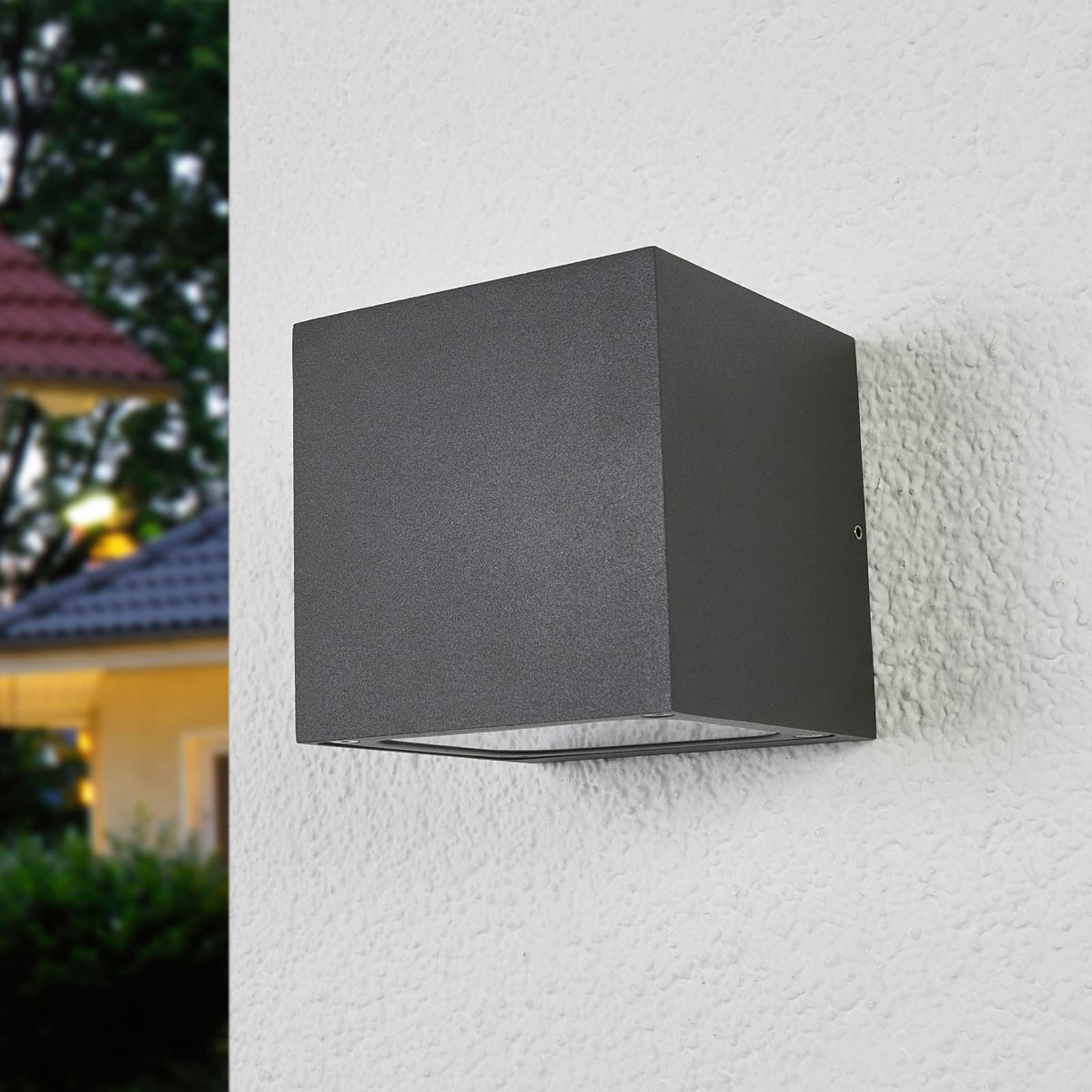 Aplique LED para exterior Merjem, gran luminosidad
