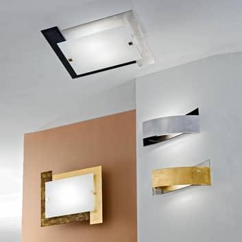 Bijzondere plafondlamp ARLESTRA, goud of zilver