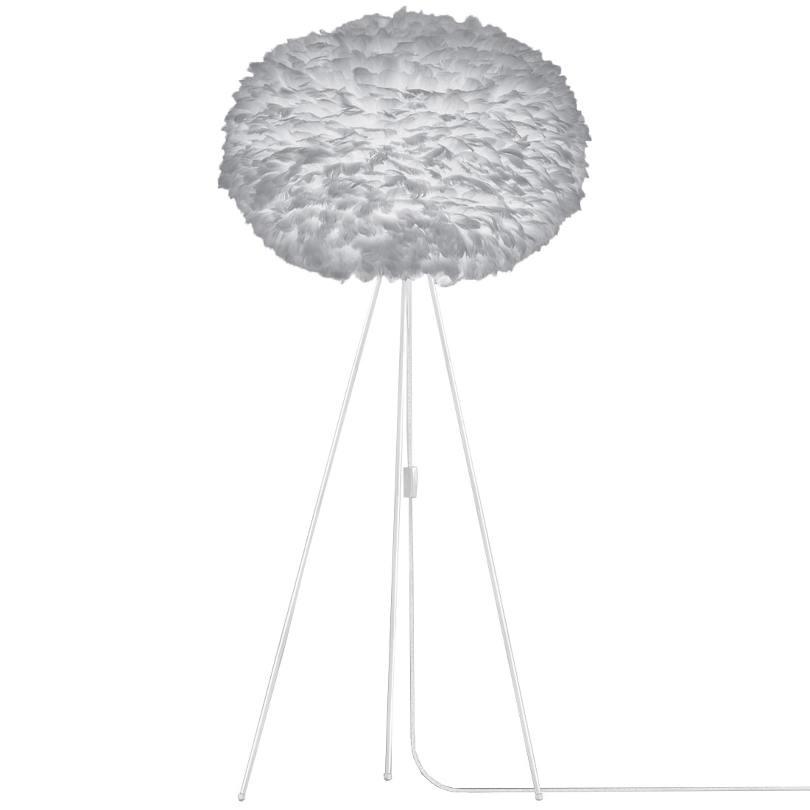 UMAGE Eos X-large vloerlamp Tripod lichtgrijs