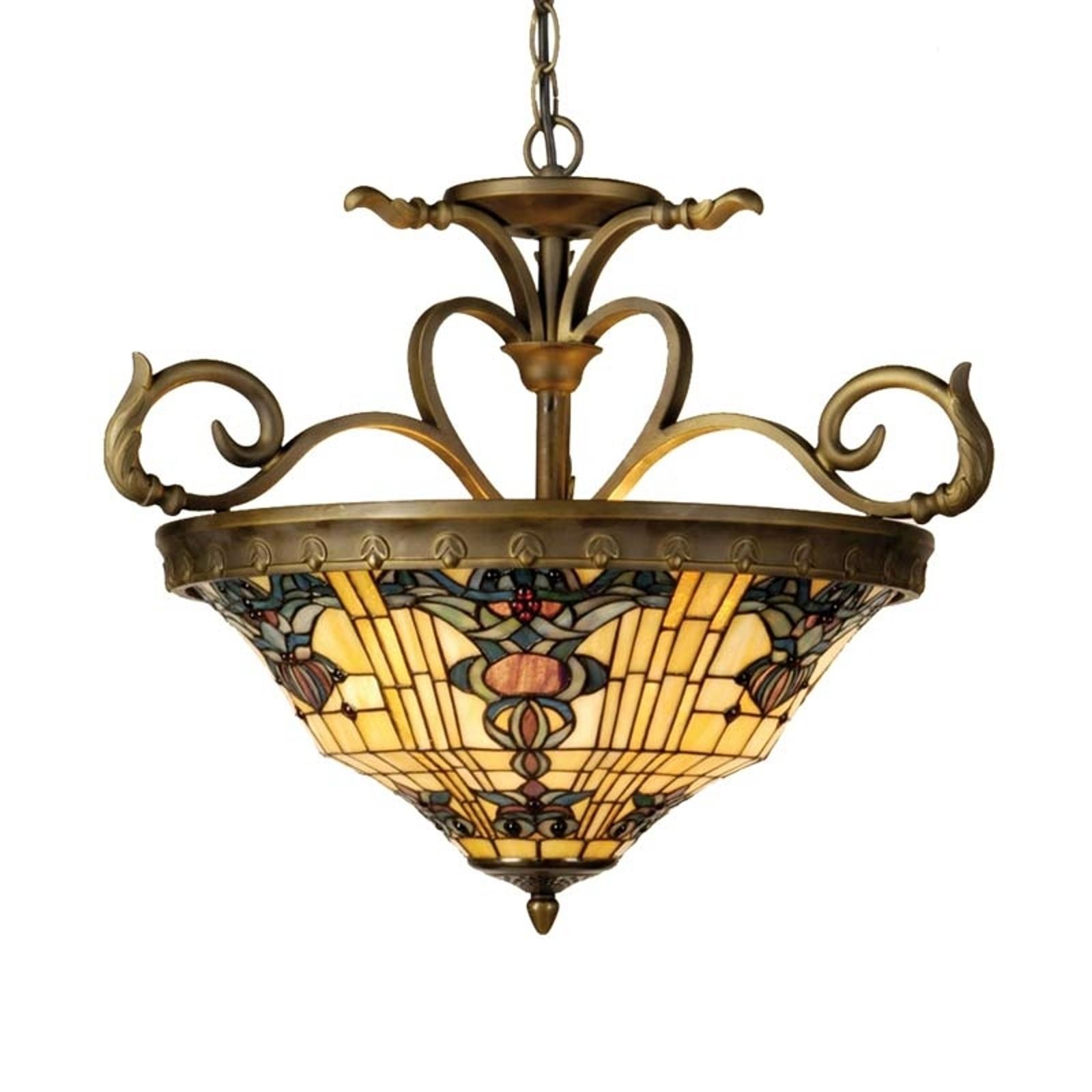 Lampa wisząca w stylu Tiffany Anthia 2