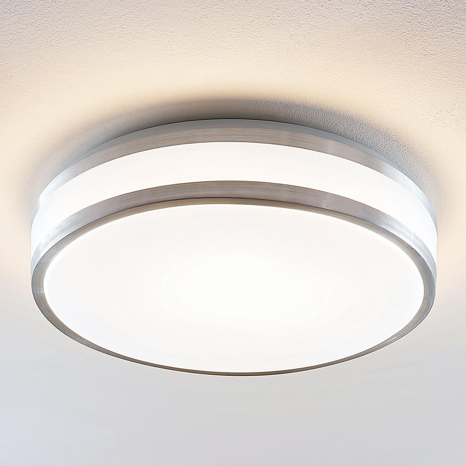 Lindby Nelia LED plafondlamp, rond, 41 cm