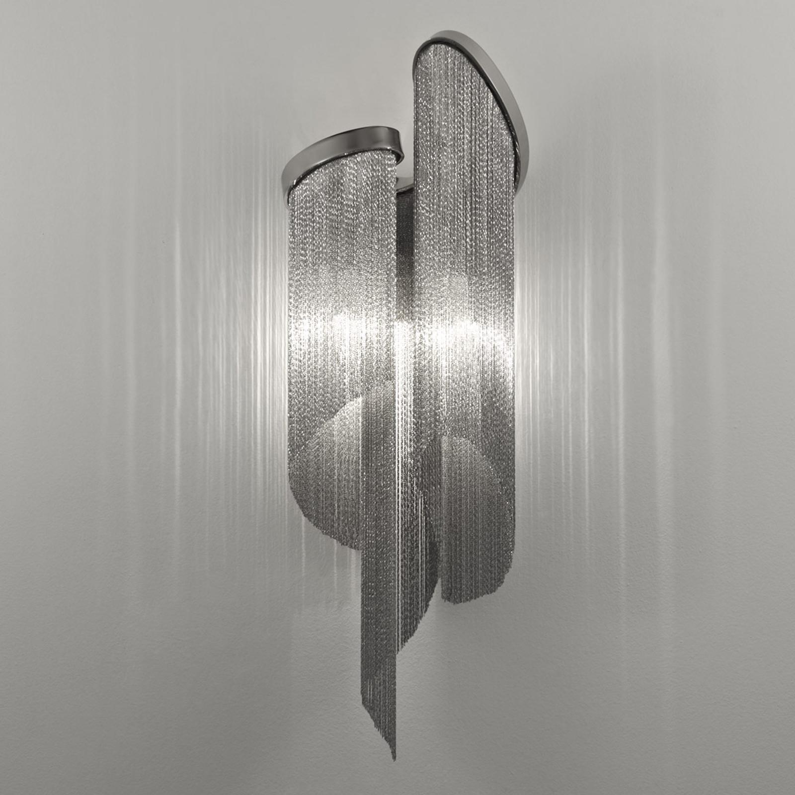 Wandlamp Stream met levendige lichtwerking