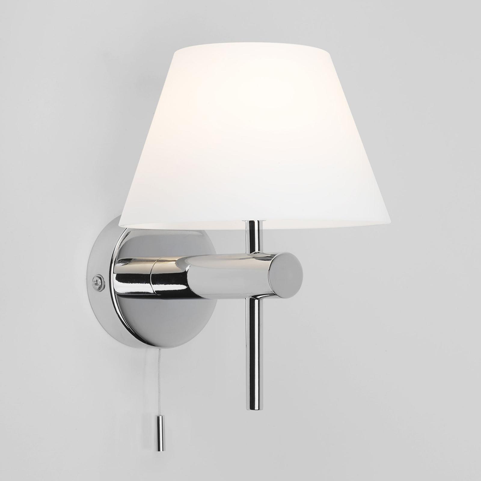 Astro Roma Switched badkamer wandlamp, chroom