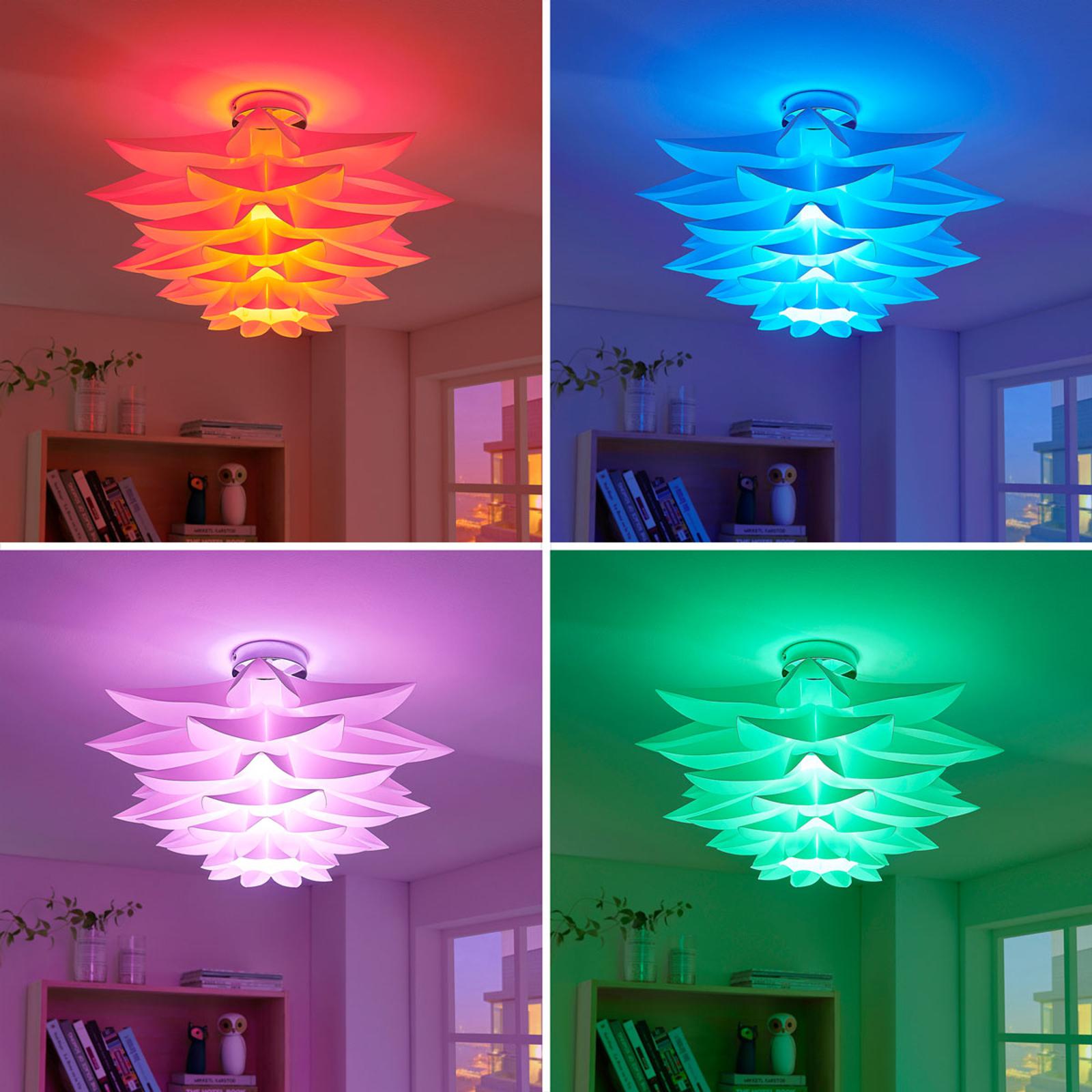 Lindy Smart LED-taklampe Lavinja, RGB