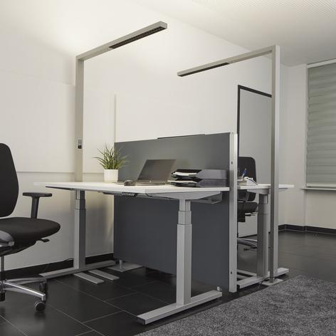 LED kantoor vloerlamp Jolinda met sensor en dimmer