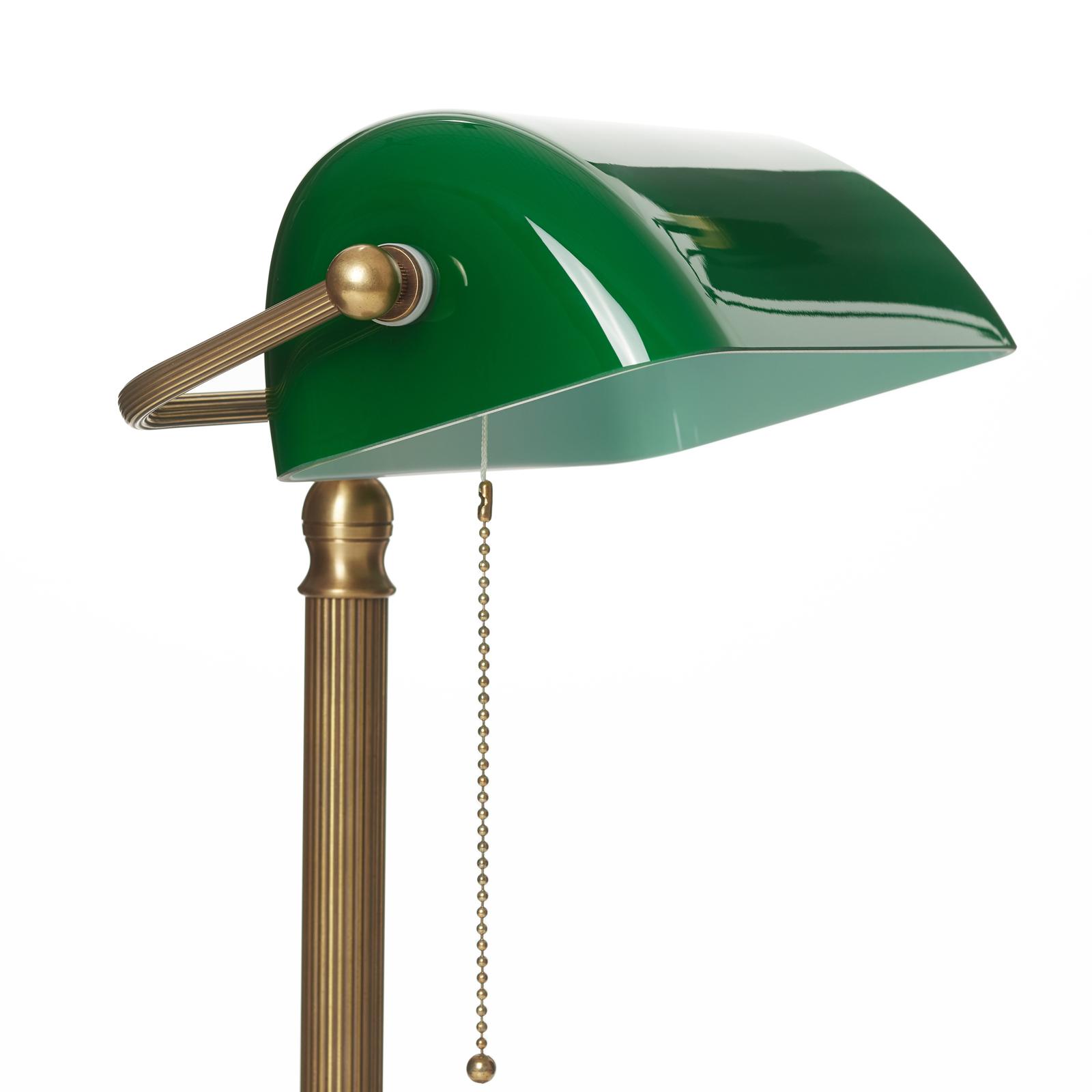 Lampe de banquier fait à la main JIVAN