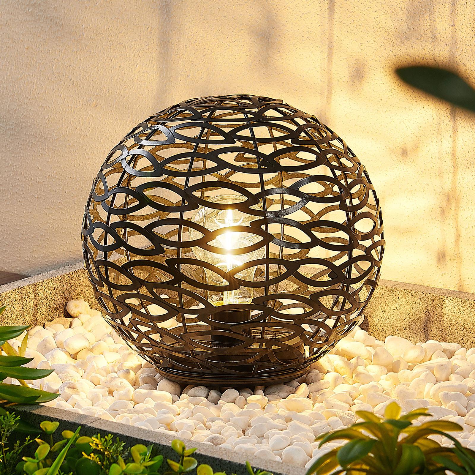 Lindby Abadin solcelle-dekolys med jordspyd