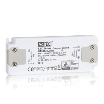 AcTEC Slim sterownik LED CC 500mA, 20W