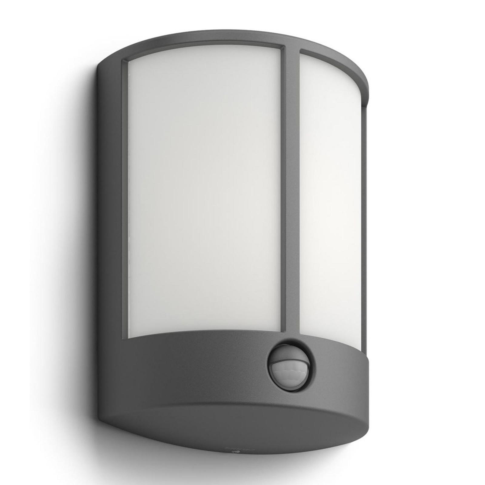 Philips Stock LED-Außenwandleuchte mit IR-Sensor