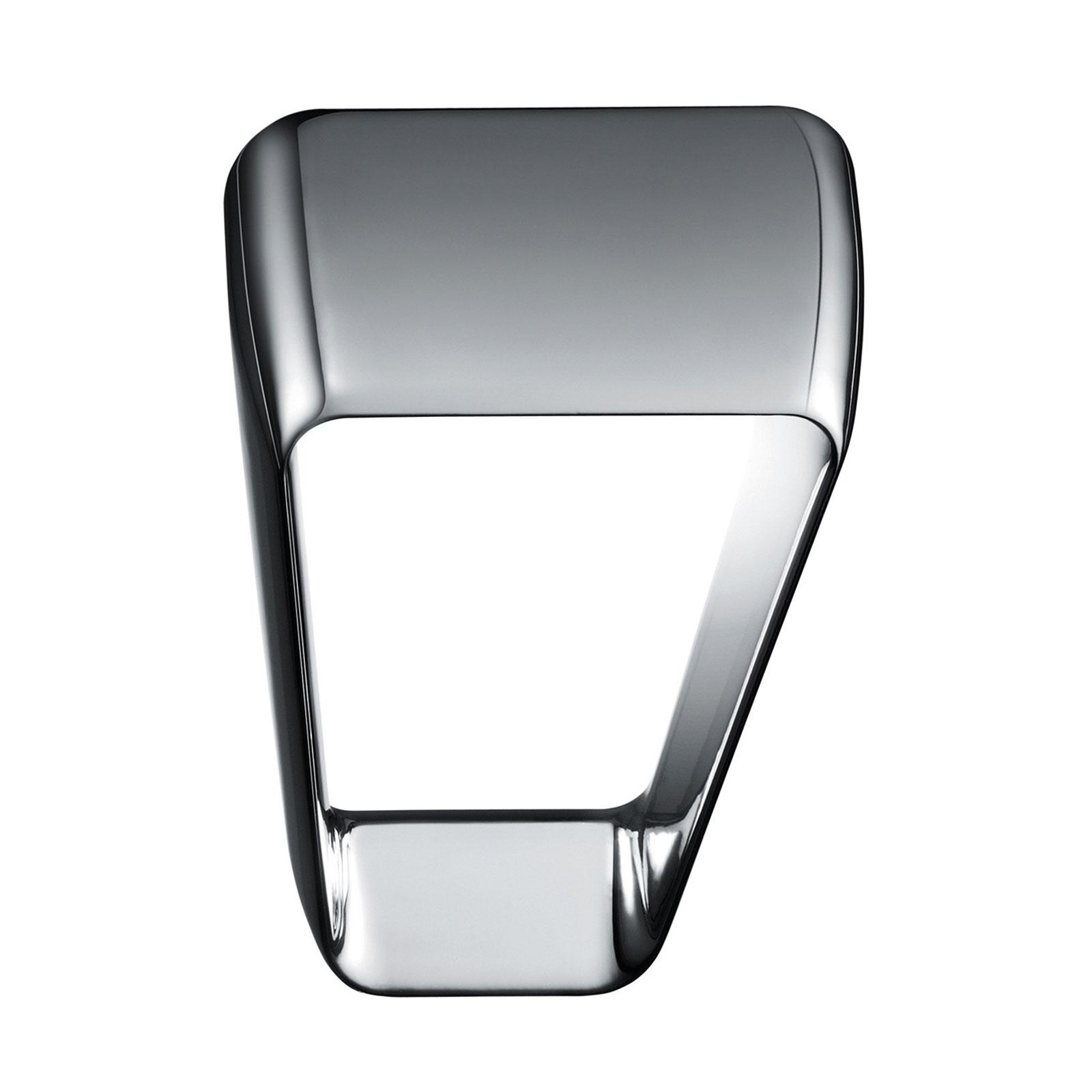 Kundalini Frame LED-Wandleuchte, chrom