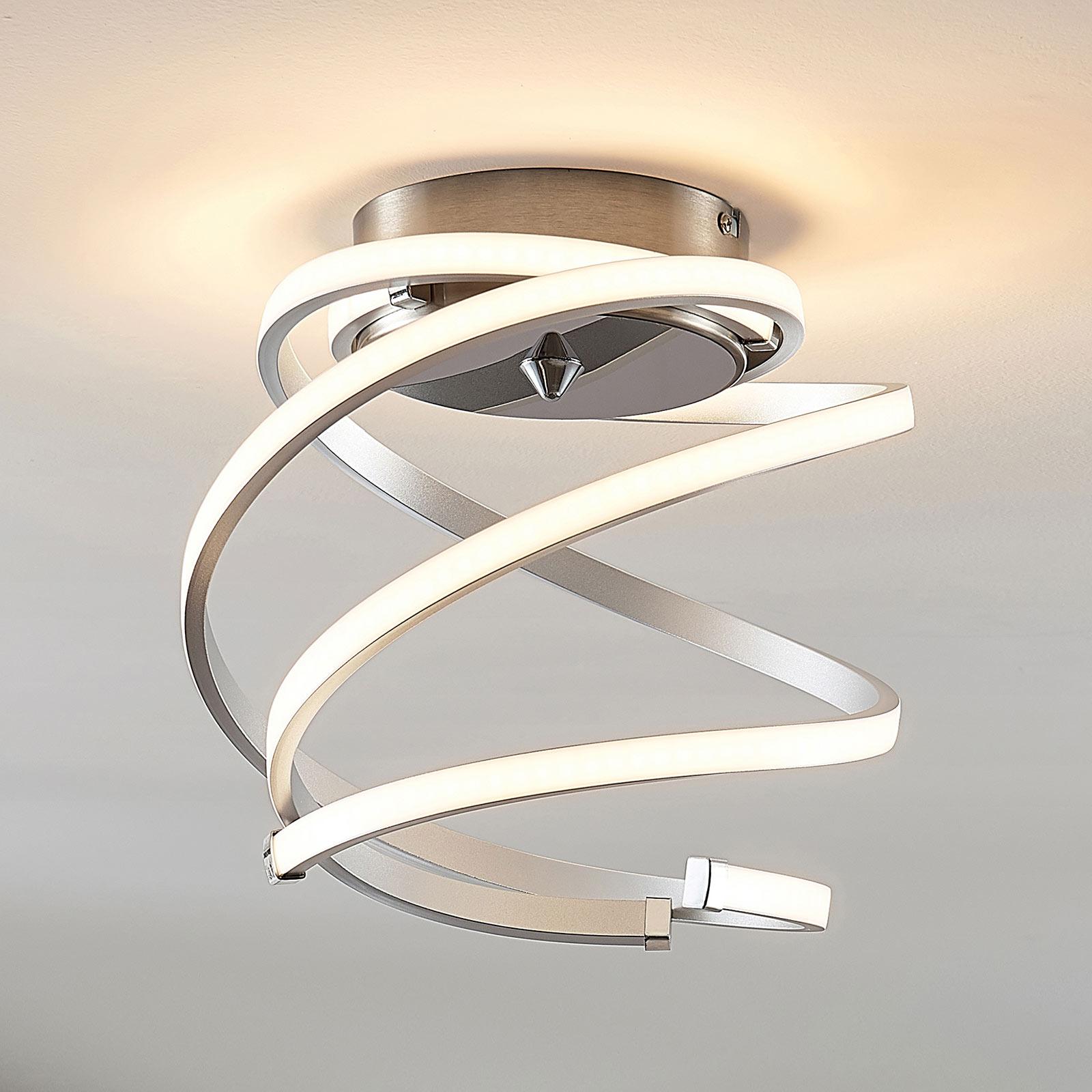 LED-taklampe Haniya, dimbar
