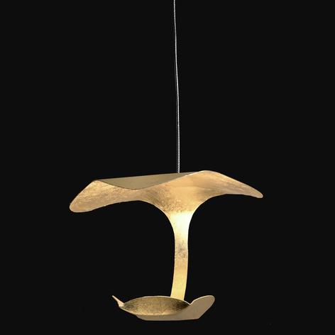 Knikerboker Le Gigine LED-Hängeleuchte 1fl gold