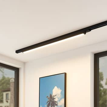 Arcchio Harlow -LED-kiskovalaisin, musta, 109 cm