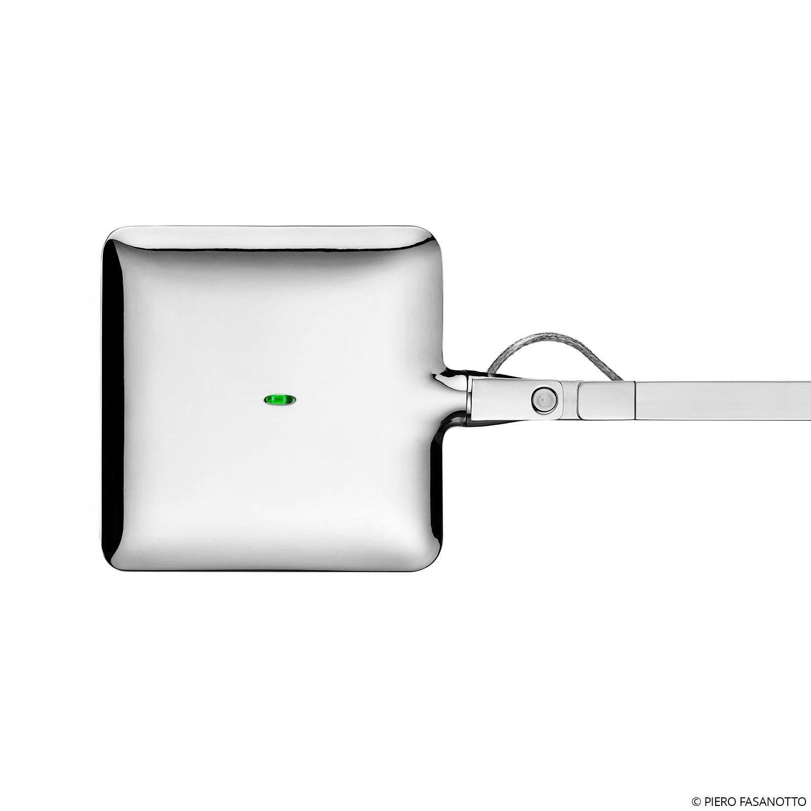 FLOS Kelvin LED-Tischleuchte in Chrom