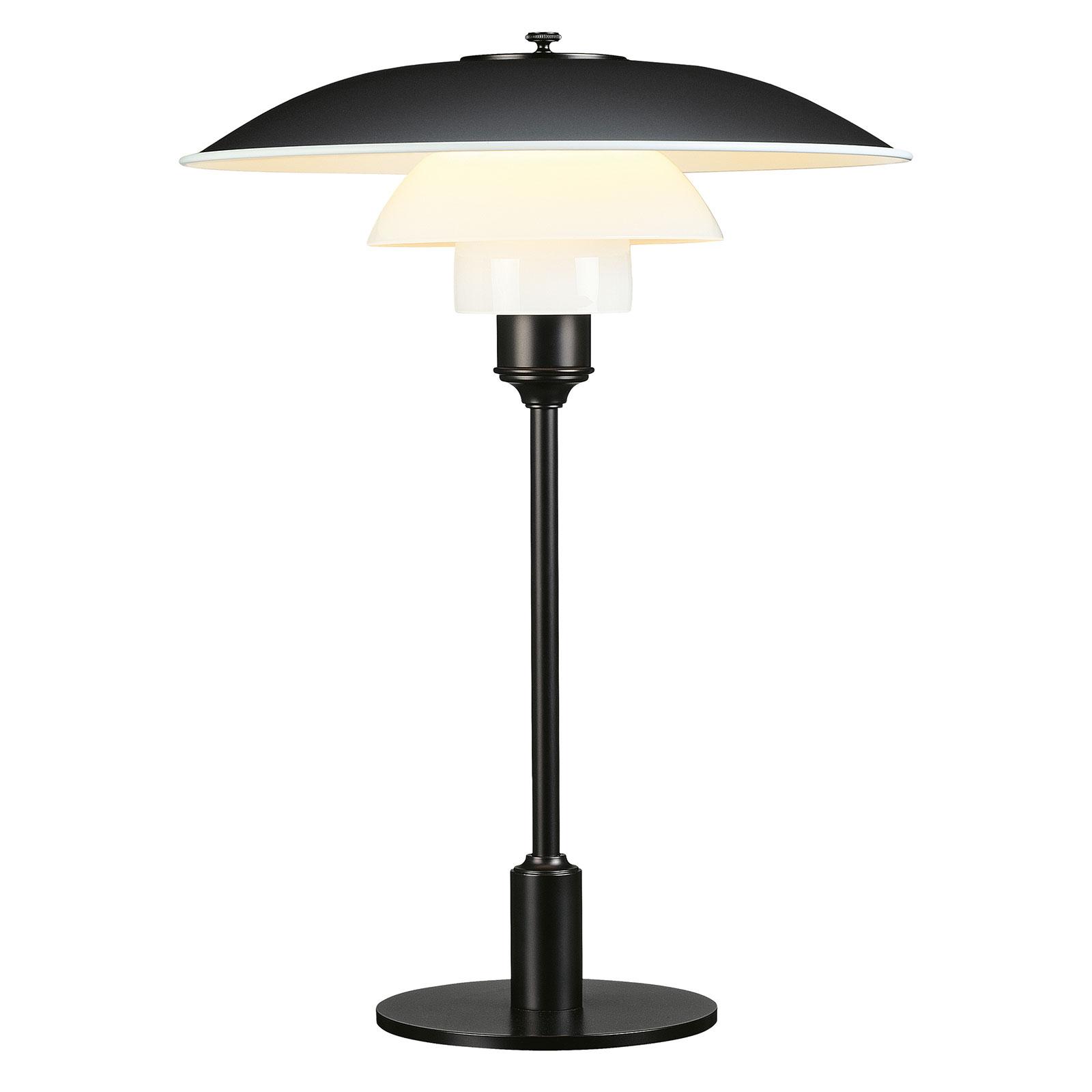 Louis Poulsen PH 3 1/2-2 1/2 lampe à poser noire