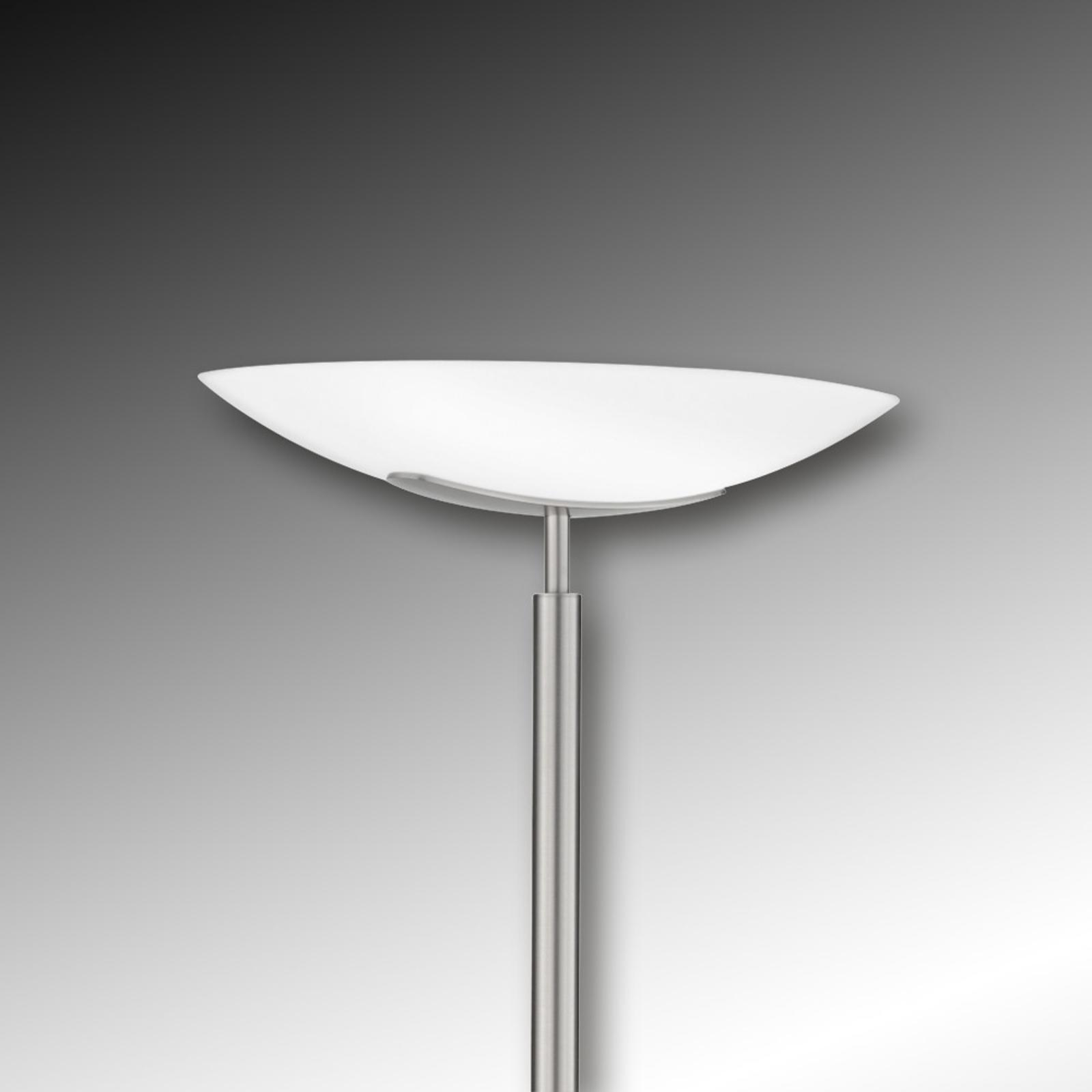 Lampe éclairage indirect Novale nickel mat