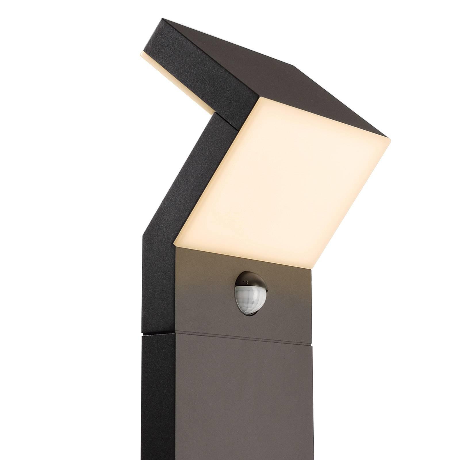 LED-Wegeleuchte Taygeta, Höhe 100 cm, mit Sensor