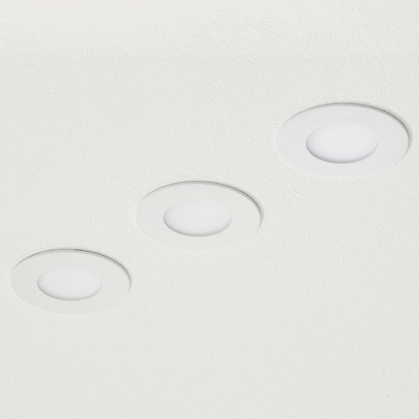 EGLO connect Fueva-C inbouwspot 3 x 3W, RGBW wit