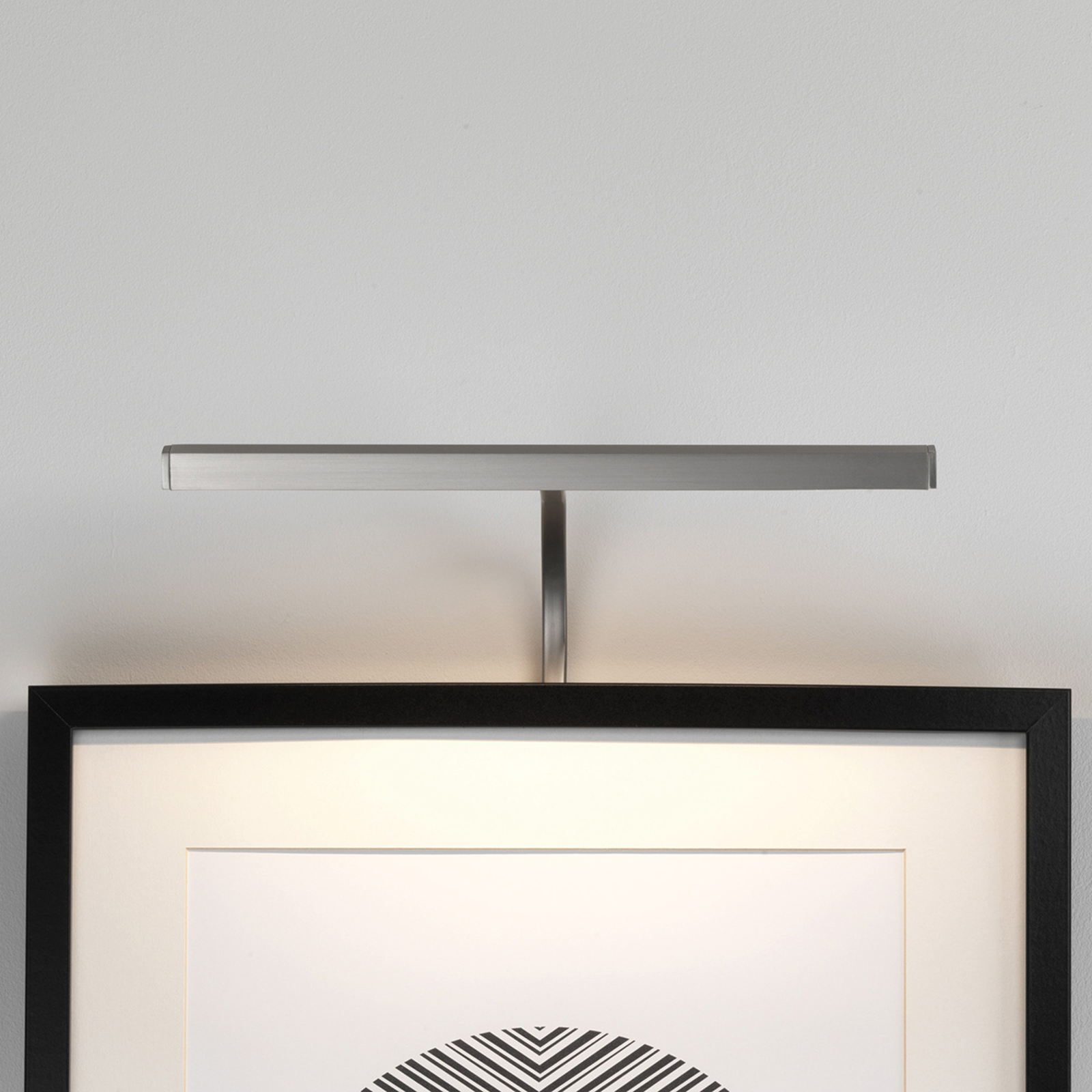 Astro Mondrian Frame Mounted applique nickel 30 cm