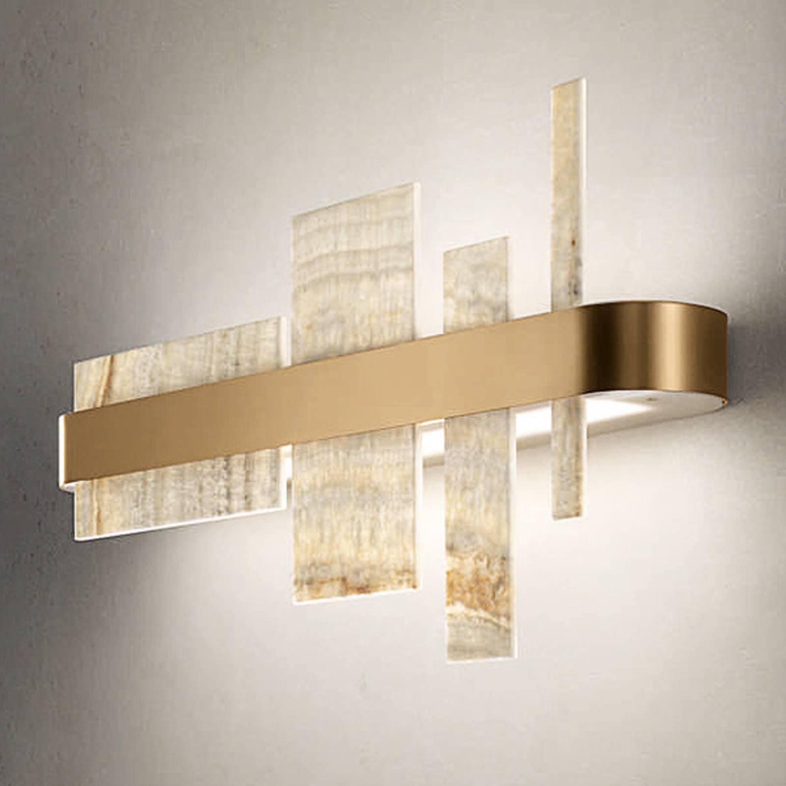 Applique de designer Honicé avec LED, 65cm