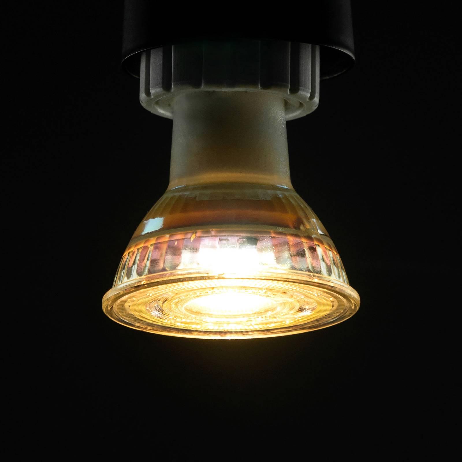 SEGULA reflector LED bulb GU10 5W 35°