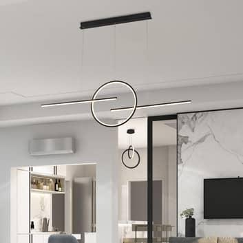 LED hanglamp Kitesurf met drie lichtbronnen