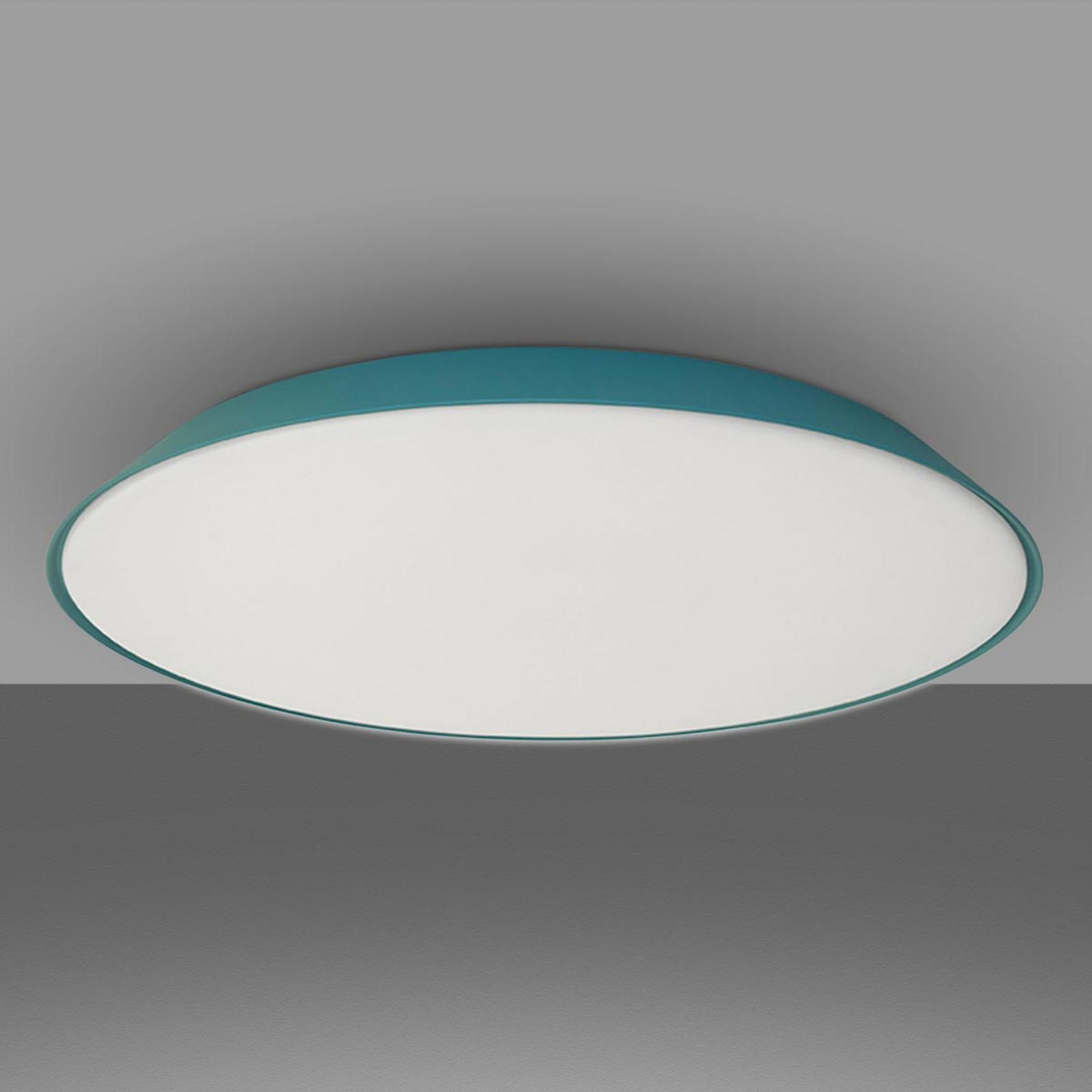 Artemide Febe LED-taklamp, 2700K turkis