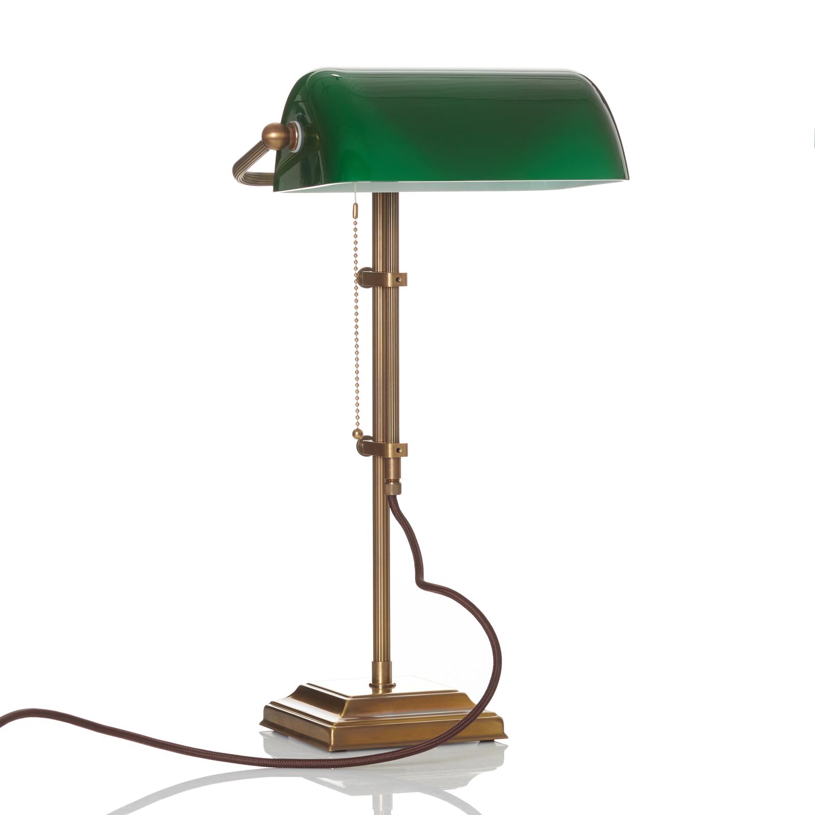 Echte Bankerlampe TULSI