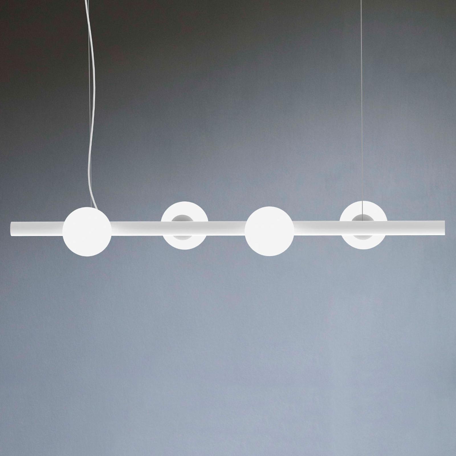 Lampa wisząca Tin Tin 4-punktowa biała