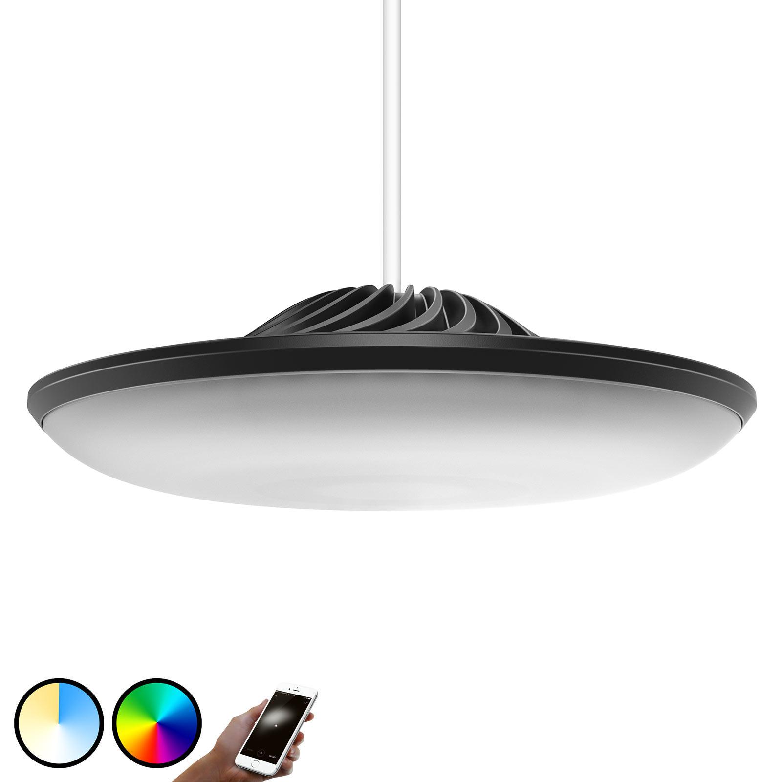 Luke Roberts Model F LED-Hängeleuchte in Schwarz
