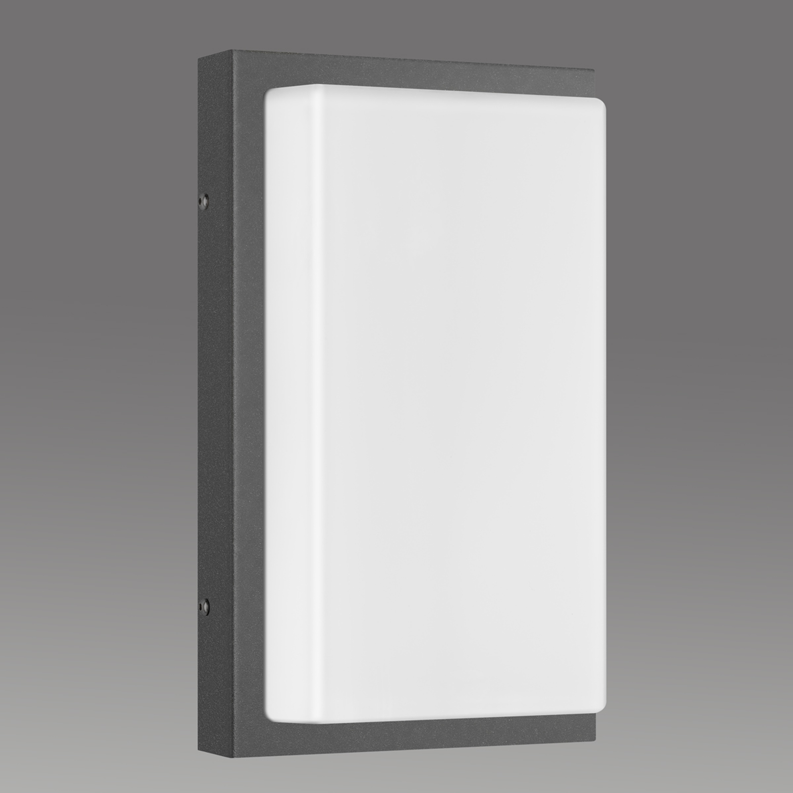 Applique d'ext. Babett E27 sans capteur graphite