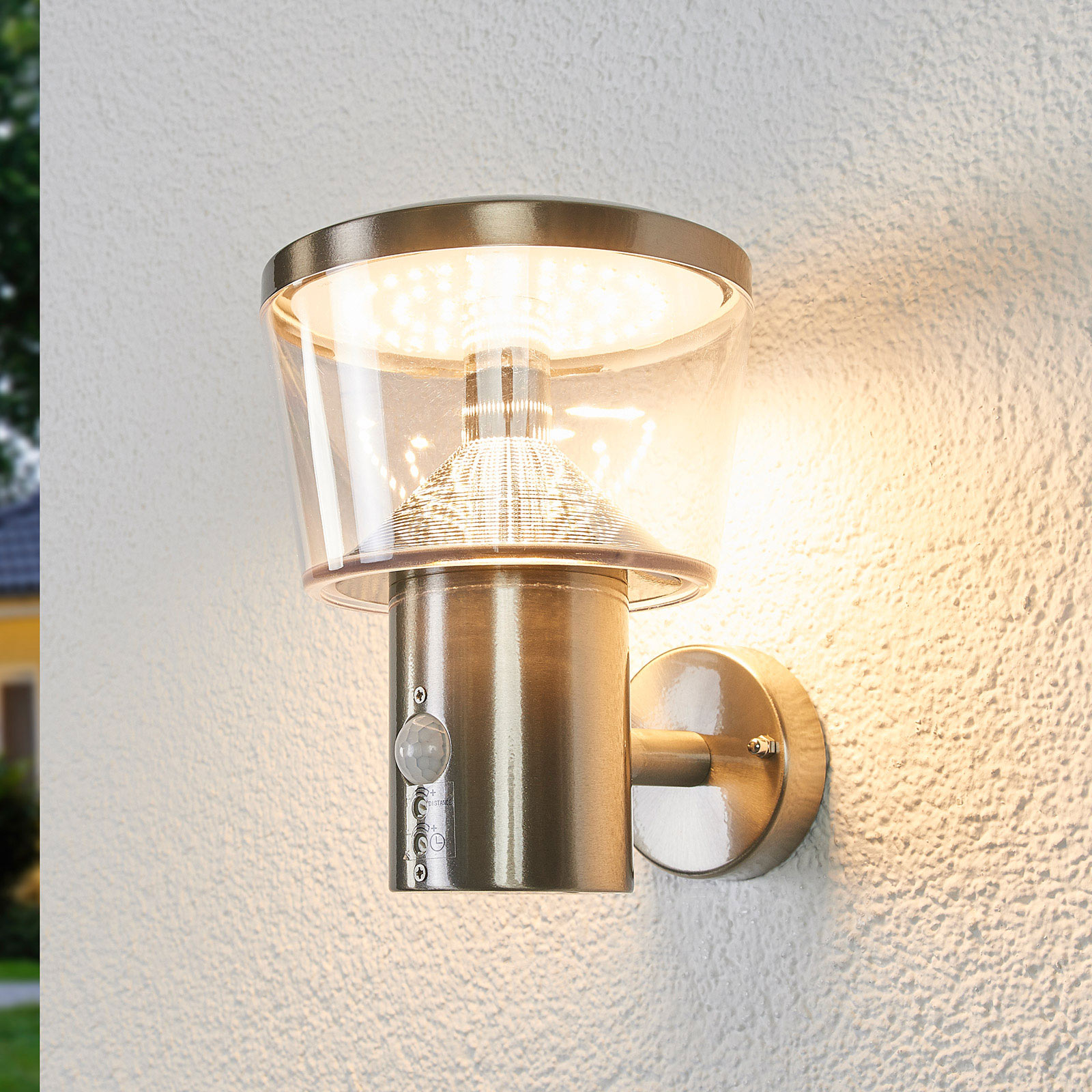 Antje sensor outdoor wall light with LEDs_9988174_1