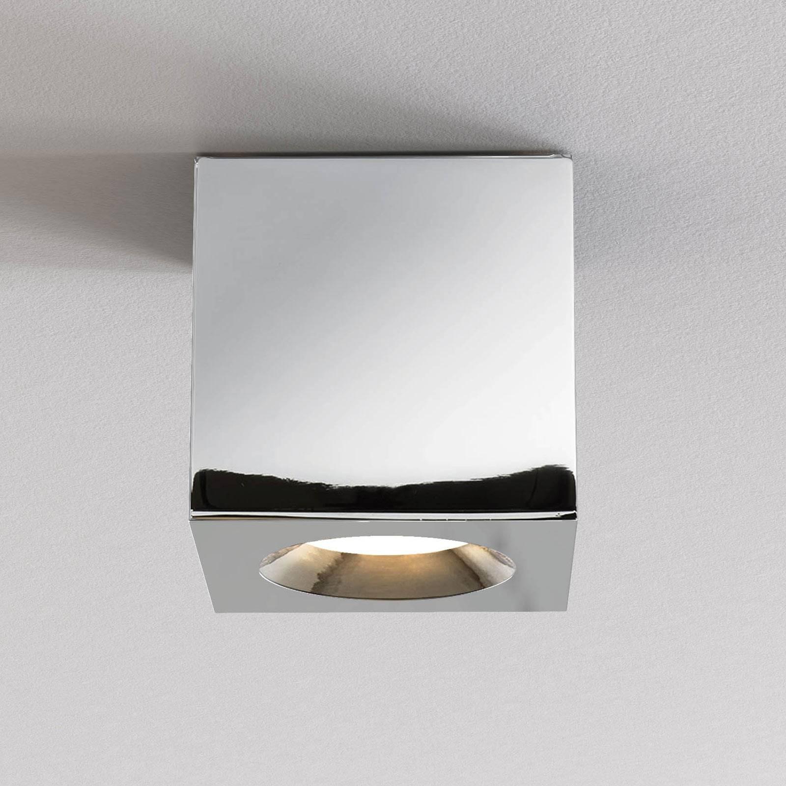 Astro Kos Square II lampa sufitowa, chrom