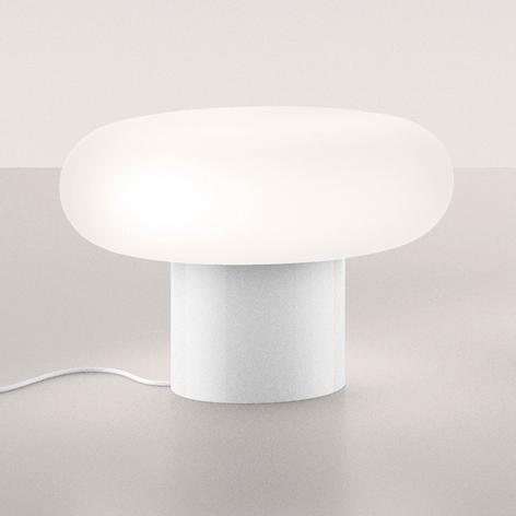 Artemide Itka LED-Tischleuchte, Keramikfuß