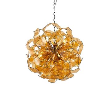 Lindby Moscalina hengelampe, amber