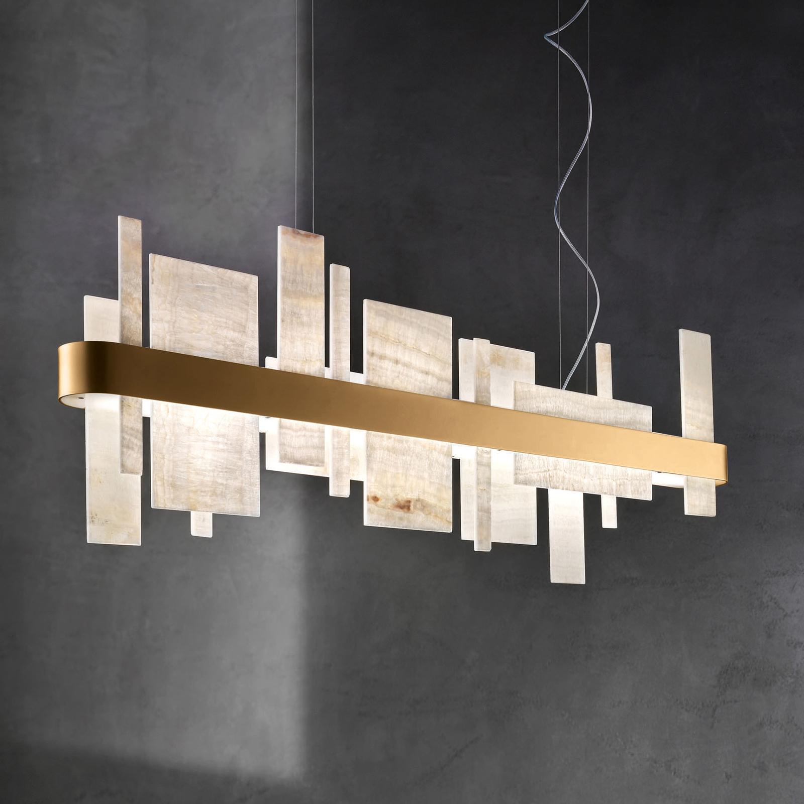 Honicé S100 LED-hængelampe, længde 100 cm