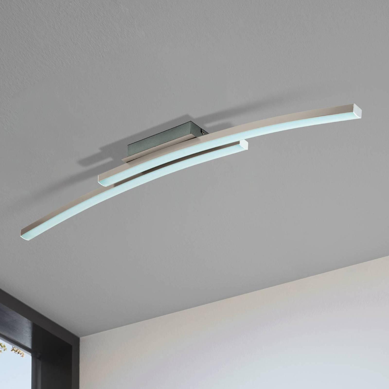 EGLO connect Fraioli-C lampa sufitowa LED, wygięta