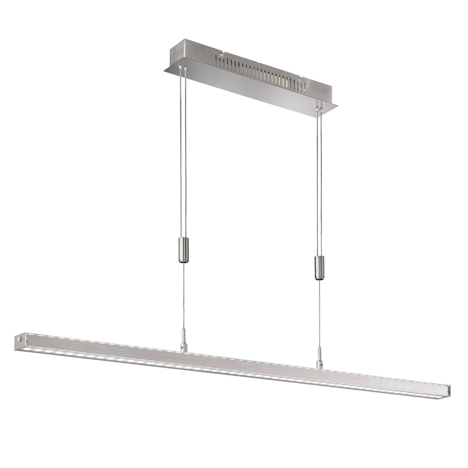 Suspension LED Vitan TW, grise, longueur 150cm