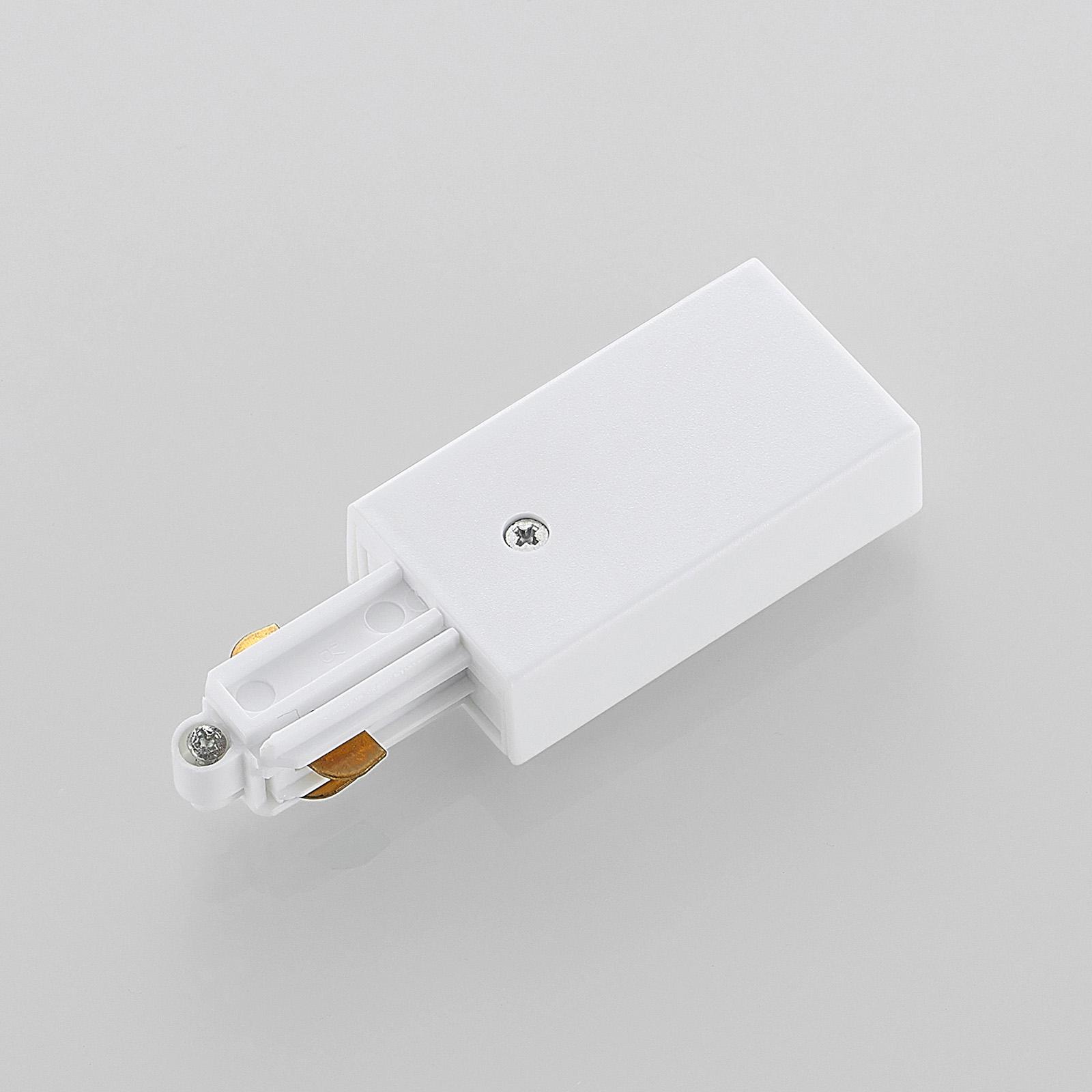Strømforsyning til 1-fase skinnesystem, hvid