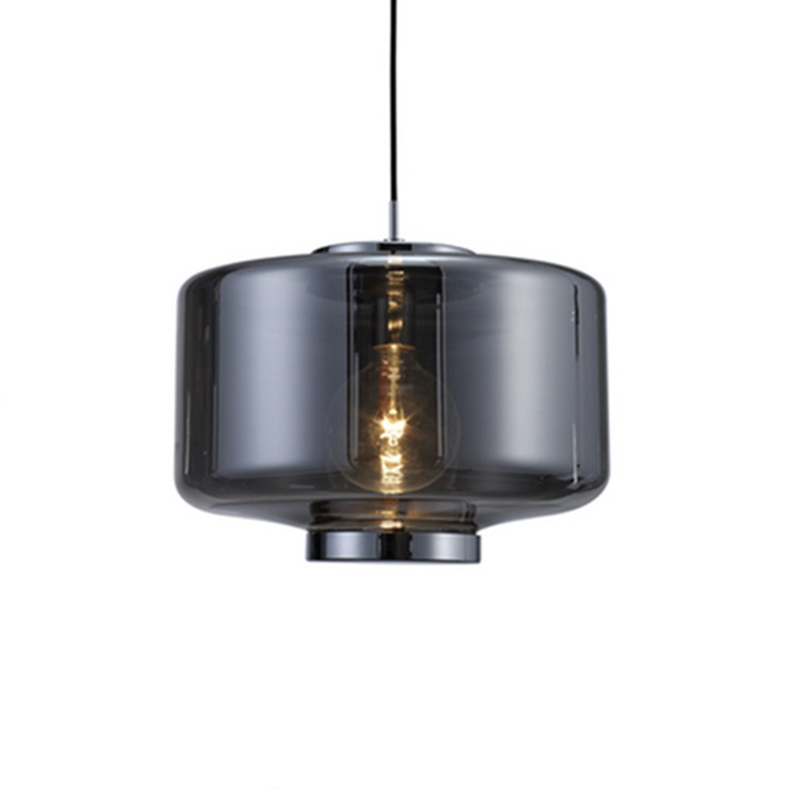 Hanglamp Jarras van glas Ø 40 cm, chroom