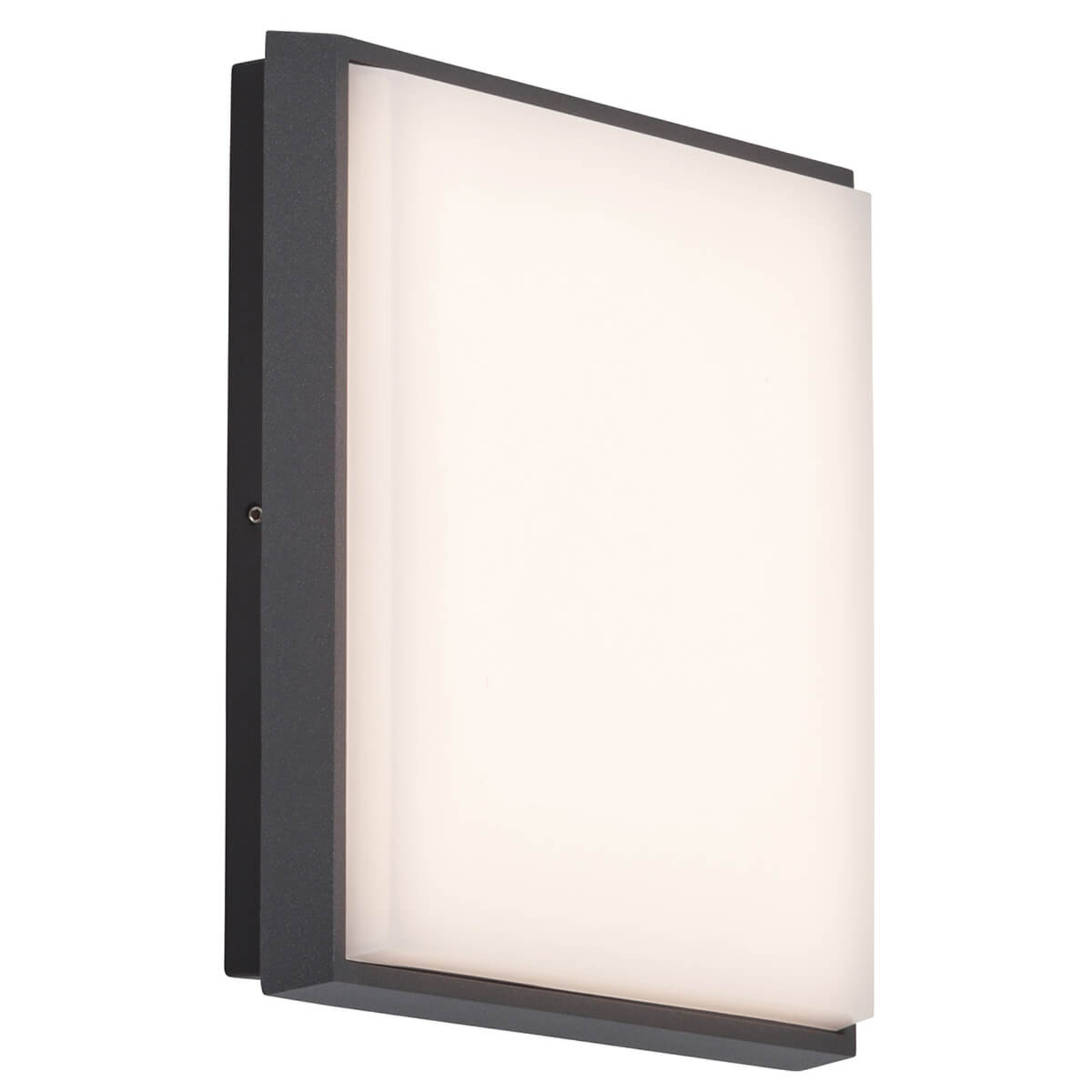 AEG Letan Square - helle LED-Außenwandlampe 23 W