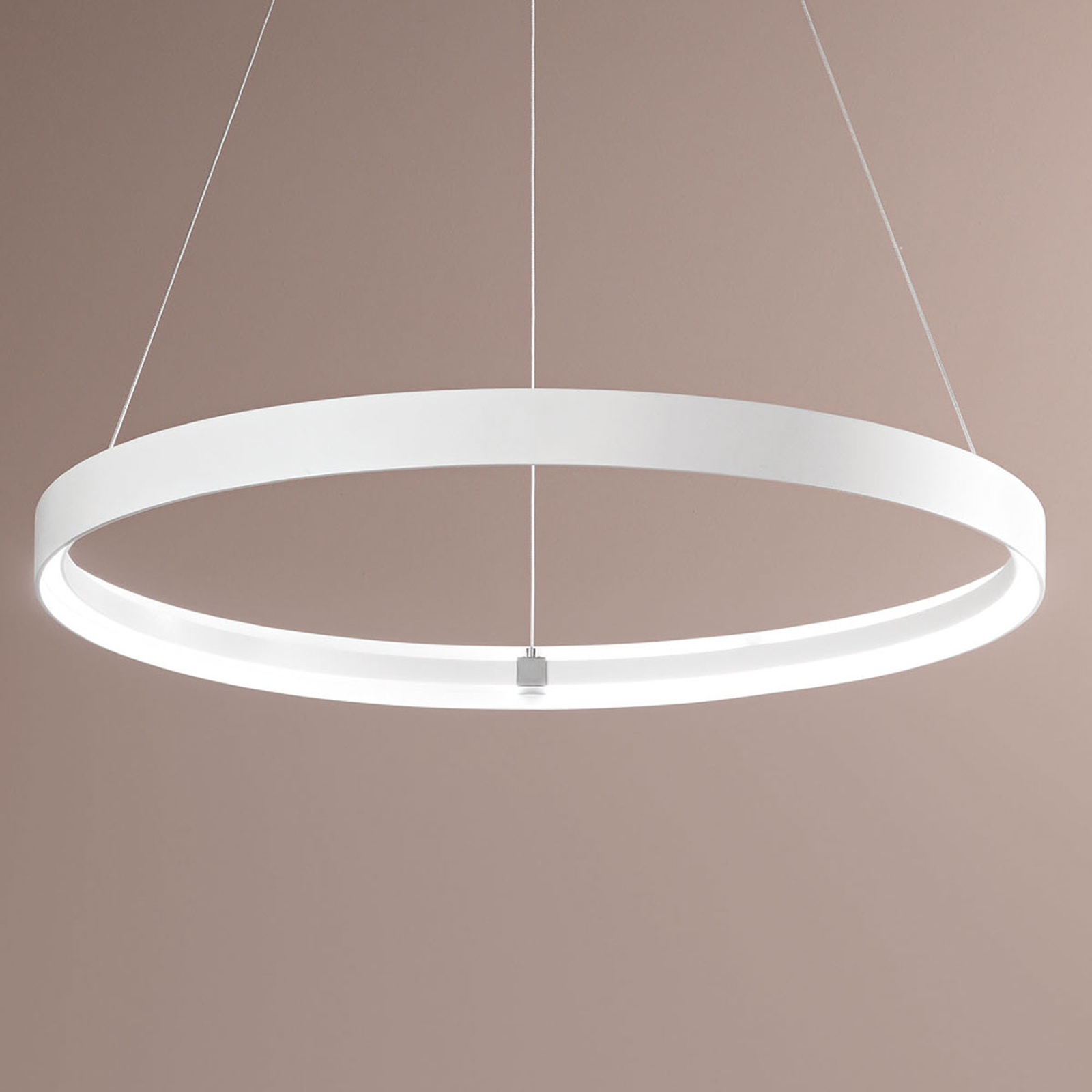 Élégante suspension LED Double