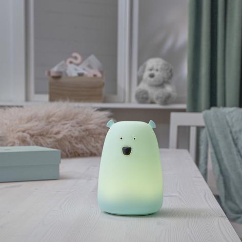 Lampa stołowa LED Big Bear, lampka nocna, RGB