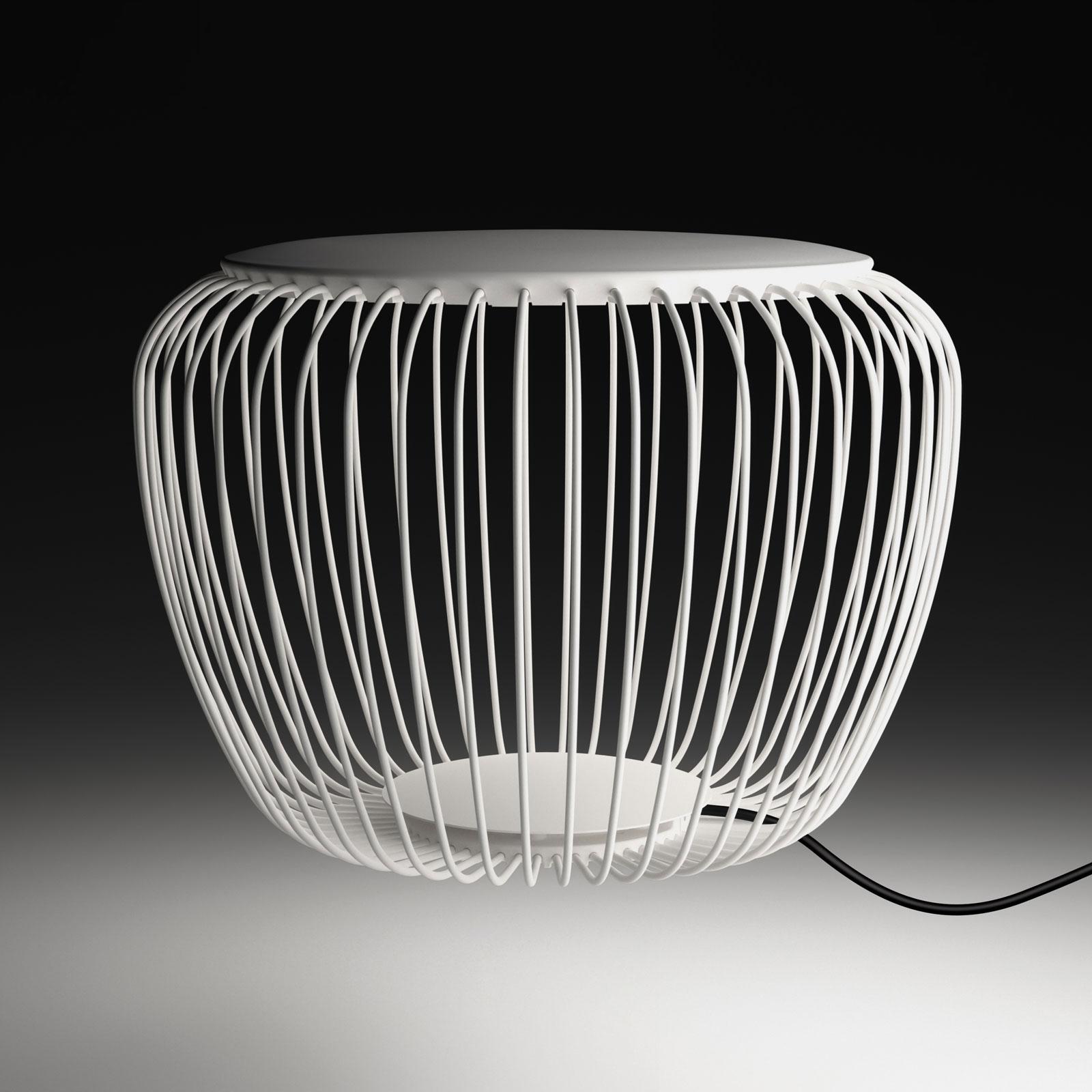 Vibia Meridiano 4710 udendørslampe, Ø 64 cm, creme
