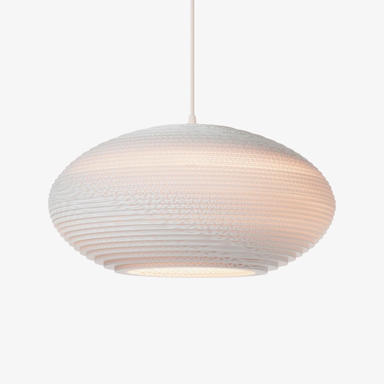 Hanglamp Disc wit Ø 50 cm