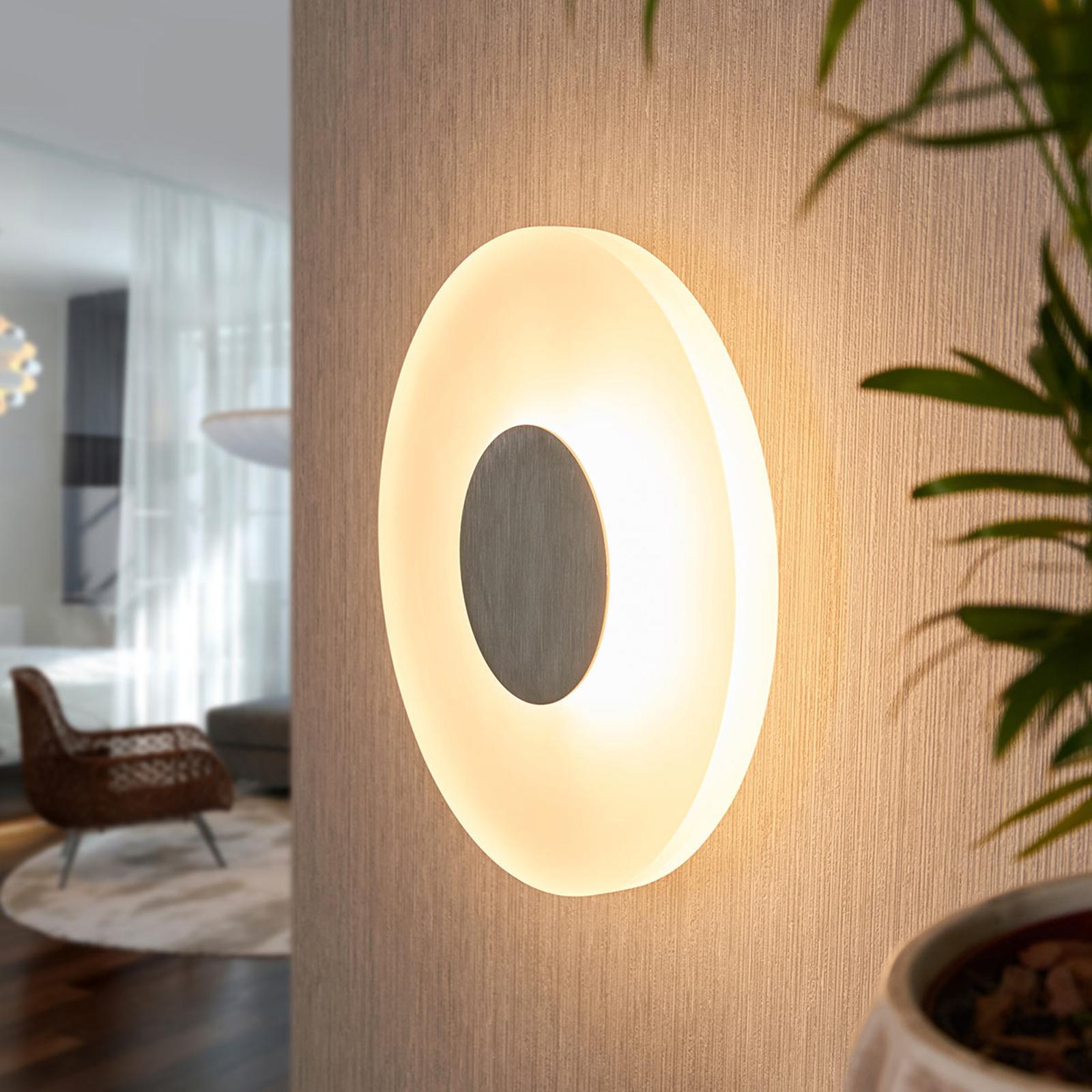 Rund LED-vegglampe Marlit