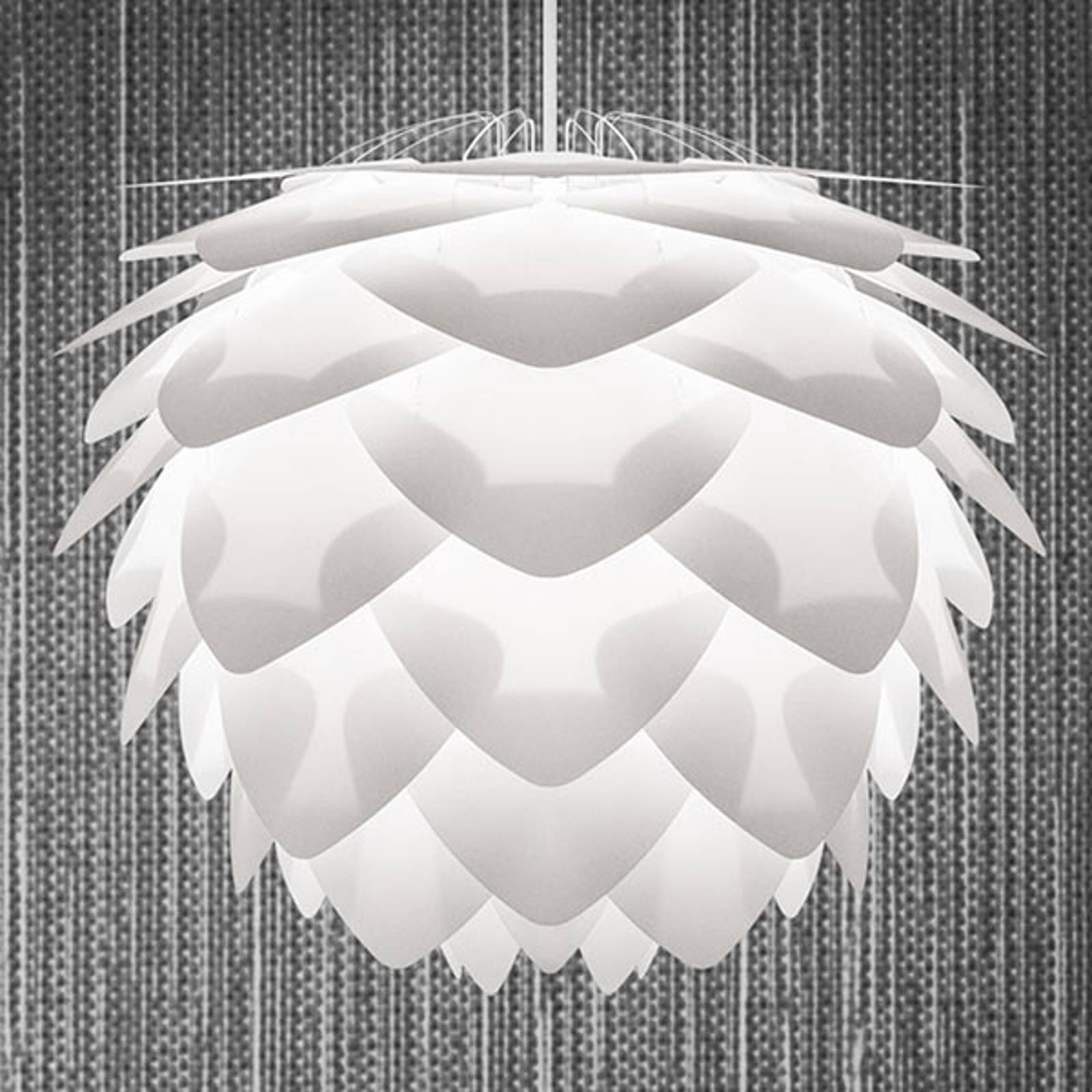 Suspension décorative Silvia medium, blanche