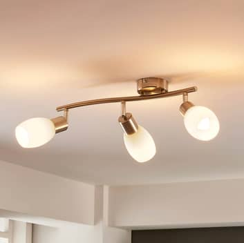Lampada LED da soffitto a 3 luci Arda dimmerabile