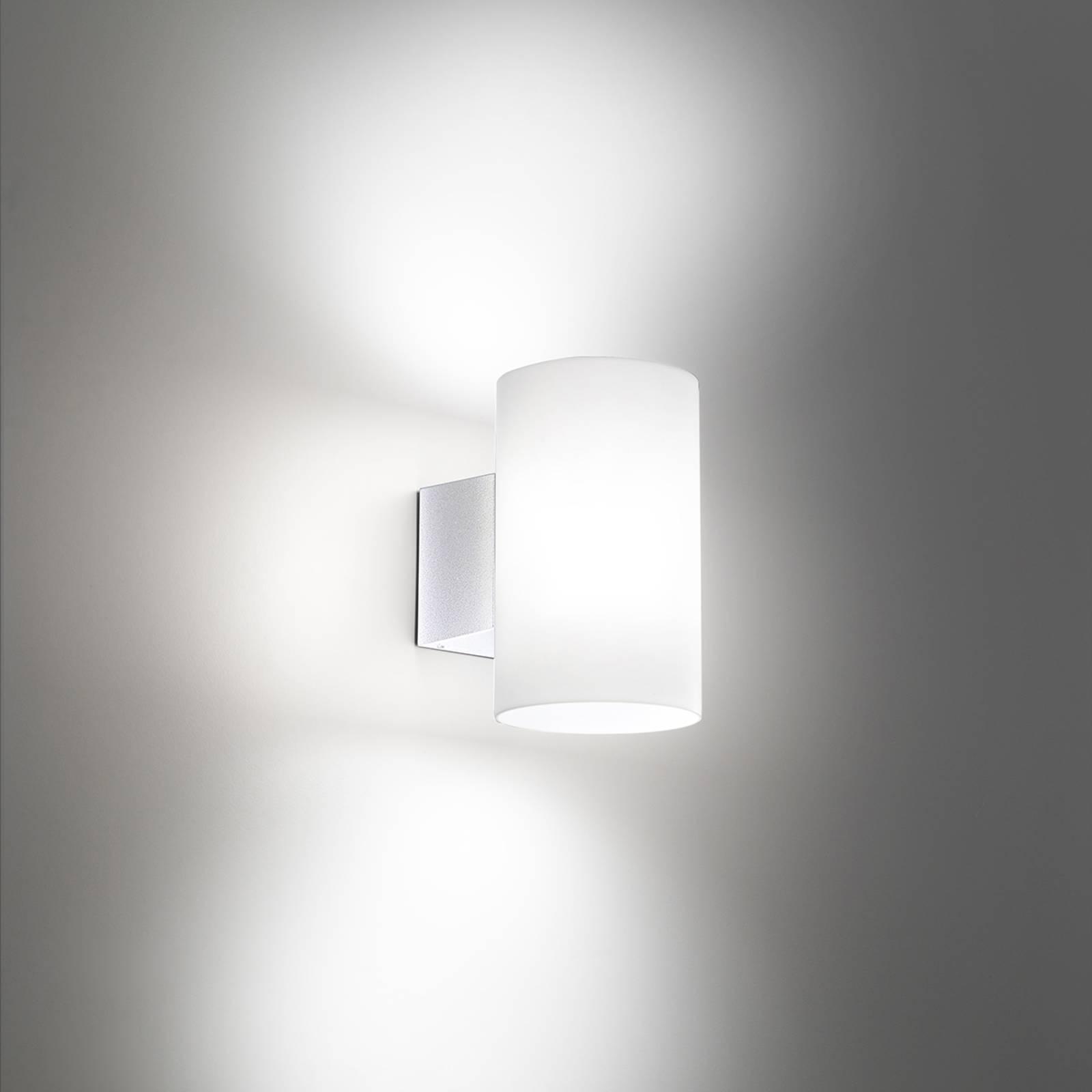 LED-Außenwandleuchte Bianca in Weiß