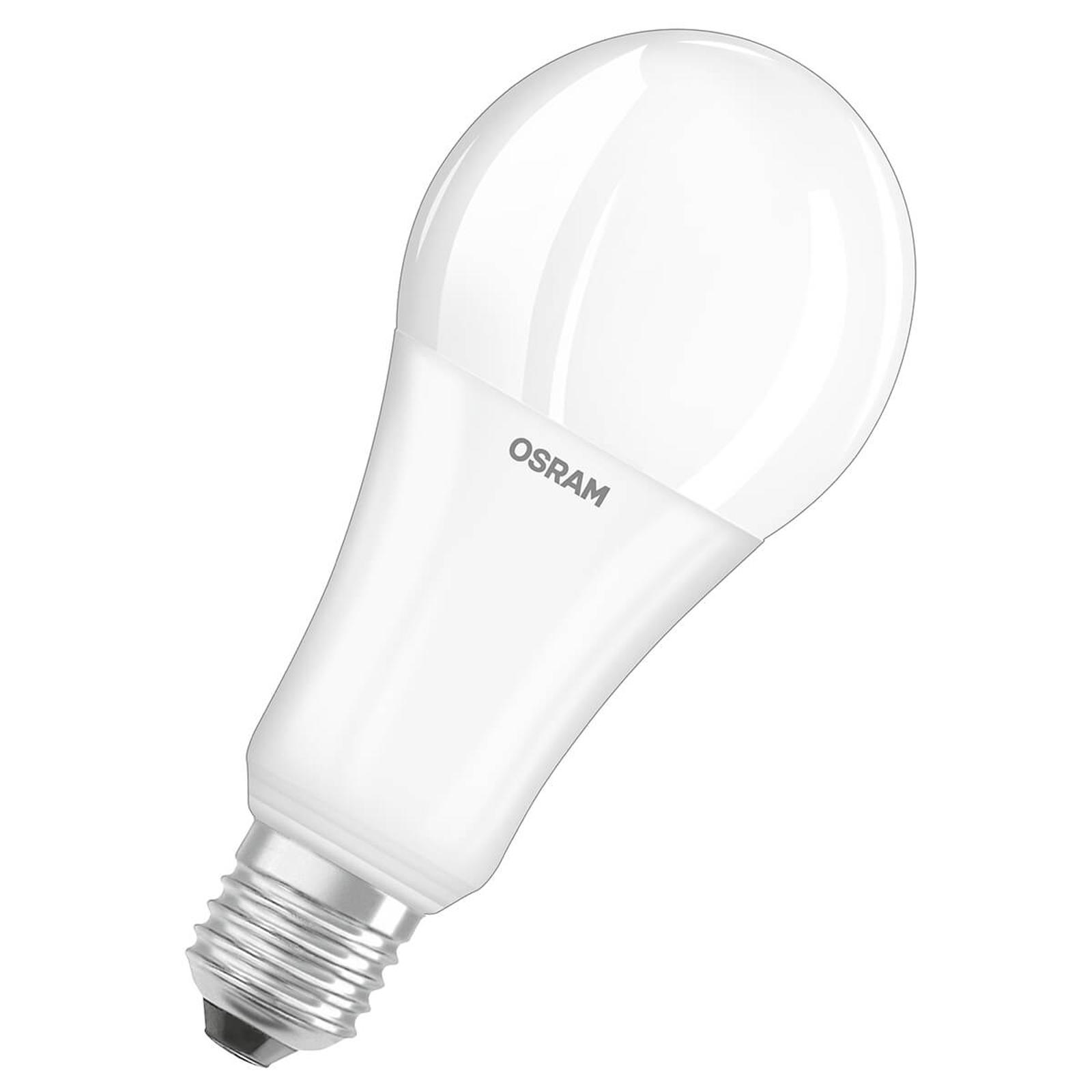 OSRAM LED-pære E27, 19W, 2700K, 2452 lm matt